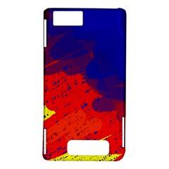 Colorful pattern Motorola DROID X2