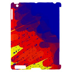 Colorful pattern Apple iPad 2 Hardshell Case (Compatible with Smart Cover)