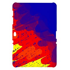 Colorful pattern Samsung Galaxy Tab 10.1  P7500 Hardshell Case