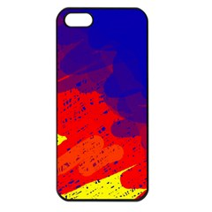 Colorful pattern Apple iPhone 5 Seamless Case (Black)
