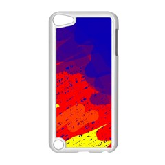 Colorful pattern Apple iPod Touch 5 Case (White)
