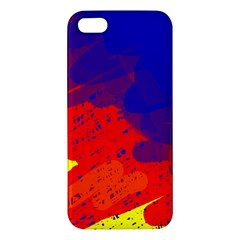 Colorful pattern Apple iPhone 5 Premium Hardshell Case