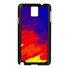 Colorful pattern Samsung Galaxy Note 3 N9005 Case (Black)