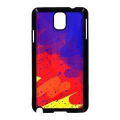 Colorful pattern Samsung Galaxy Note 3 Neo Hardshell Case (Black)