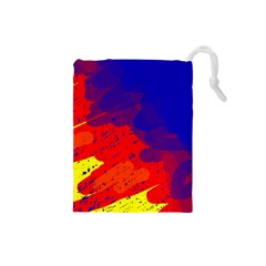 Colorful pattern Drawstring Pouches (Small)