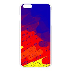 Colorful pattern Apple Seamless iPhone 6 Plus/6S Plus Case (Transparent)