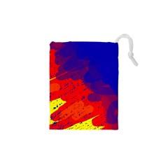 Colorful pattern Drawstring Pouches (XS)