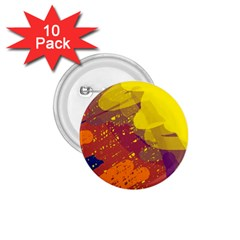 Colorful abstract pattern 1.75  Buttons (10 pack)