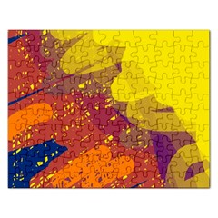 Colorful abstract pattern Rectangular Jigsaw Puzzl