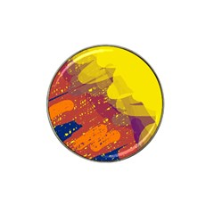 Colorful abstract pattern Hat Clip Ball Marker (4 pack)