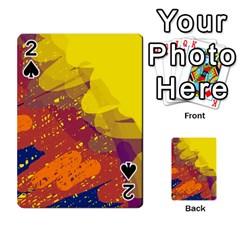 Colorful Abstract Pattern Playing Cards 54 Designs