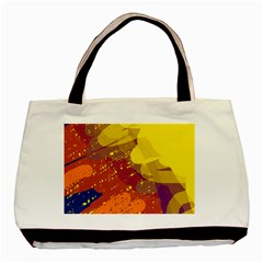 Colorful abstract pattern Basic Tote Bag