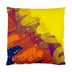 Colorful abstract pattern Standard Cushion Case (Two Sides)