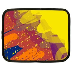 Colorful abstract pattern Netbook Case (XXL)