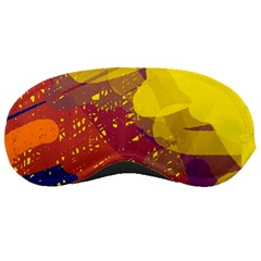 Colorful abstract pattern Sleeping Masks