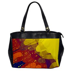 Colorful abstract pattern Office Handbags