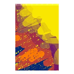 Colorful abstract pattern Shower Curtain 48  x 72  (Small)