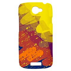 Colorful abstract pattern HTC One S Hardshell Case