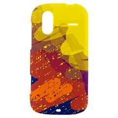 Colorful abstract pattern HTC Amaze 4G Hardshell Case