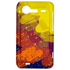 Colorful abstract pattern HTC Incredible S Hardshell Case