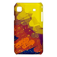 Colorful abstract pattern Samsung Galaxy S i9008 Hardshell Case