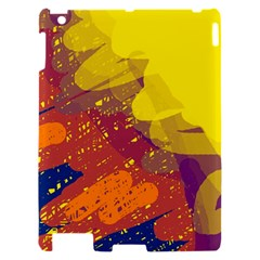 Colorful abstract pattern Apple iPad 2 Hardshell Case
