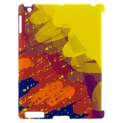 Colorful abstract pattern Apple iPad 2 Hardshell Case (Compatible with Smart Cover)
