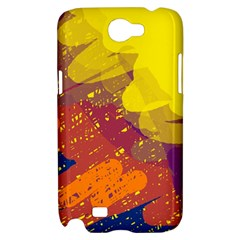 Colorful abstract pattern Samsung Galaxy Note 2 Hardshell Case