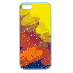 Colorful abstract pattern Apple Seamless iPhone 5 Case (Color)