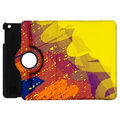 Colorful abstract pattern Apple iPad Mini Flip 360 Case