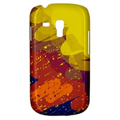 Colorful abstract pattern Samsung Galaxy S3 MINI I8190 Hardshell Case