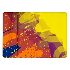 Colorful abstract pattern Samsung Galaxy Tab 10.1  P7500 Flip Case