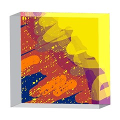Colorful abstract pattern 5  x 5  Acrylic Photo Blocks
