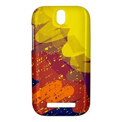 Colorful abstract pattern HTC One SV Hardshell Case