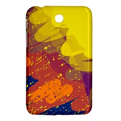 Colorful abstract pattern Samsung Galaxy Tab 3 (7 ) P3200 Hardshell Case