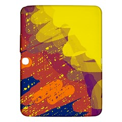 Colorful abstract pattern Samsung Galaxy Tab 3 (10.1 ) P5200 Hardshell Case