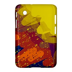 Colorful abstract pattern Samsung Galaxy Tab 2 (7 ) P3100 Hardshell Case