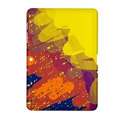 Colorful abstract pattern Samsung Galaxy Tab 2 (10.1 ) P5100 Hardshell Case
