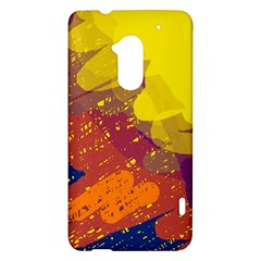 Colorful abstract pattern HTC One Max (T6) Hardshell Case
