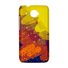 Colorful abstract pattern HTC Desire 601 Hardshell Case