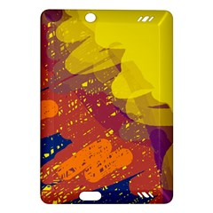 Colorful abstract pattern Amazon Kindle Fire HD (2013) Hardshell Case