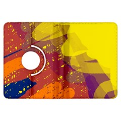 Colorful abstract pattern Kindle Fire HDX Flip 360 Case