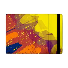 Colorful abstract pattern iPad Mini 2 Flip Cases