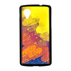 Colorful abstract pattern Nexus 5 Case (Black)