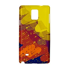 Colorful abstract pattern Samsung Galaxy Note 4 Hardshell Case