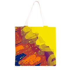 Colorful abstract pattern Grocery Light Tote Bag