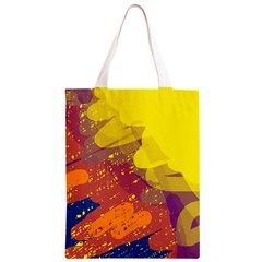 Colorful abstract pattern Classic Light Tote Bag