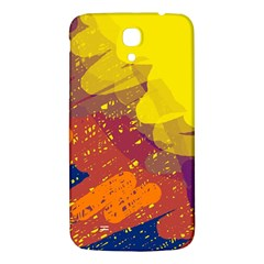 Colorful abstract pattern Samsung Galaxy Mega I9200 Hardshell Back Case