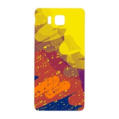 Colorful abstract pattern Samsung Galaxy Alpha Hardshell Back Case