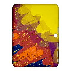 Colorful abstract pattern Samsung Galaxy Tab 4 (10.1 ) Hardshell Case